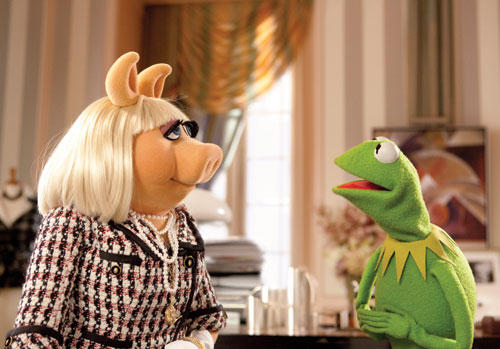 Miss Piggy Kermit
