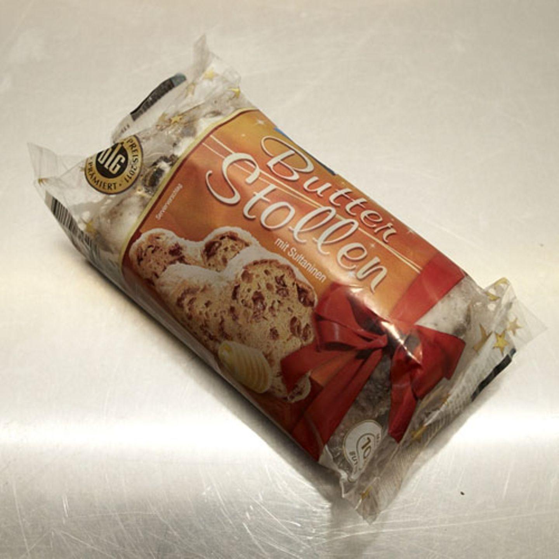 """""""Butterstollen mit Sultaninen"""" von Edeka - das sagt die Jury:"""