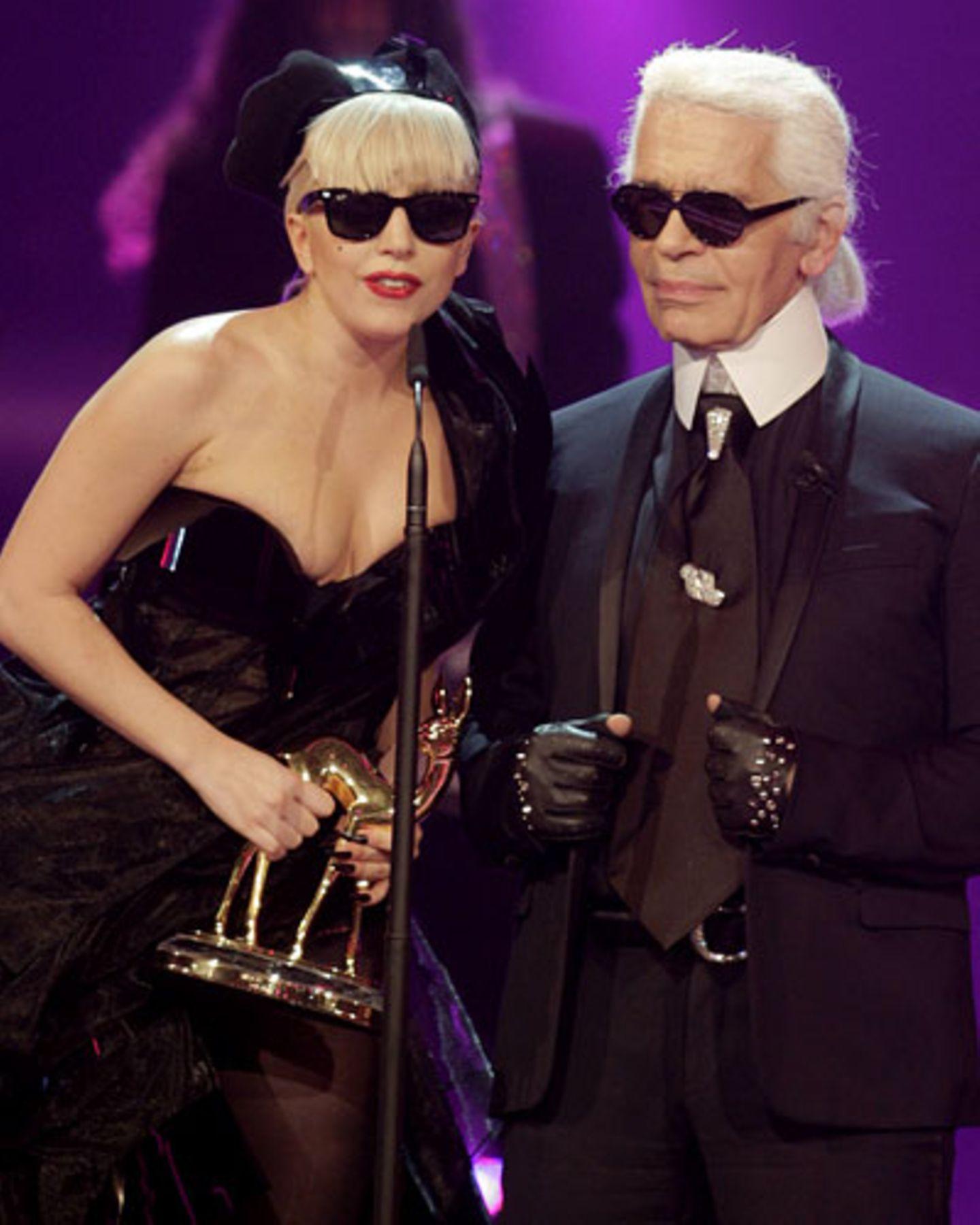 Lagerfeld über Lady Gaga