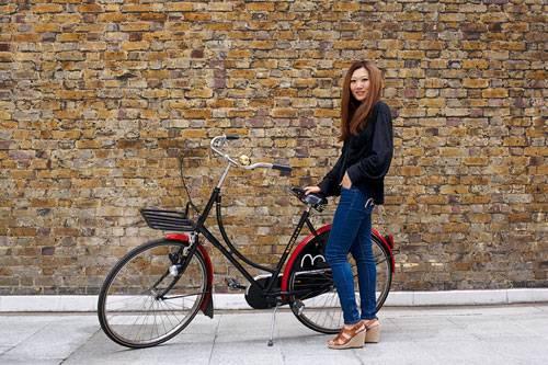 Frau Fahrrad London