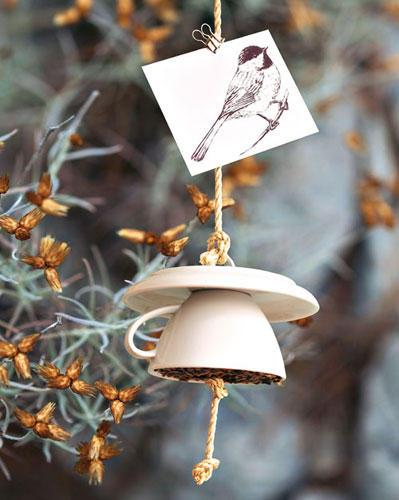 Ein Futterhaus für Vögel basteln