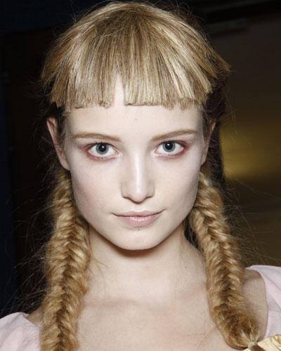 Geflochtene Haare - Gretchenlook