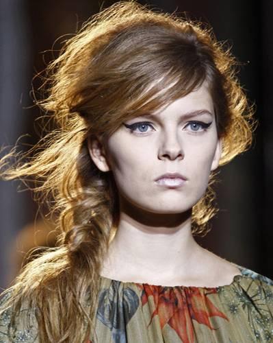Geflochtene Haare - Undone-Look