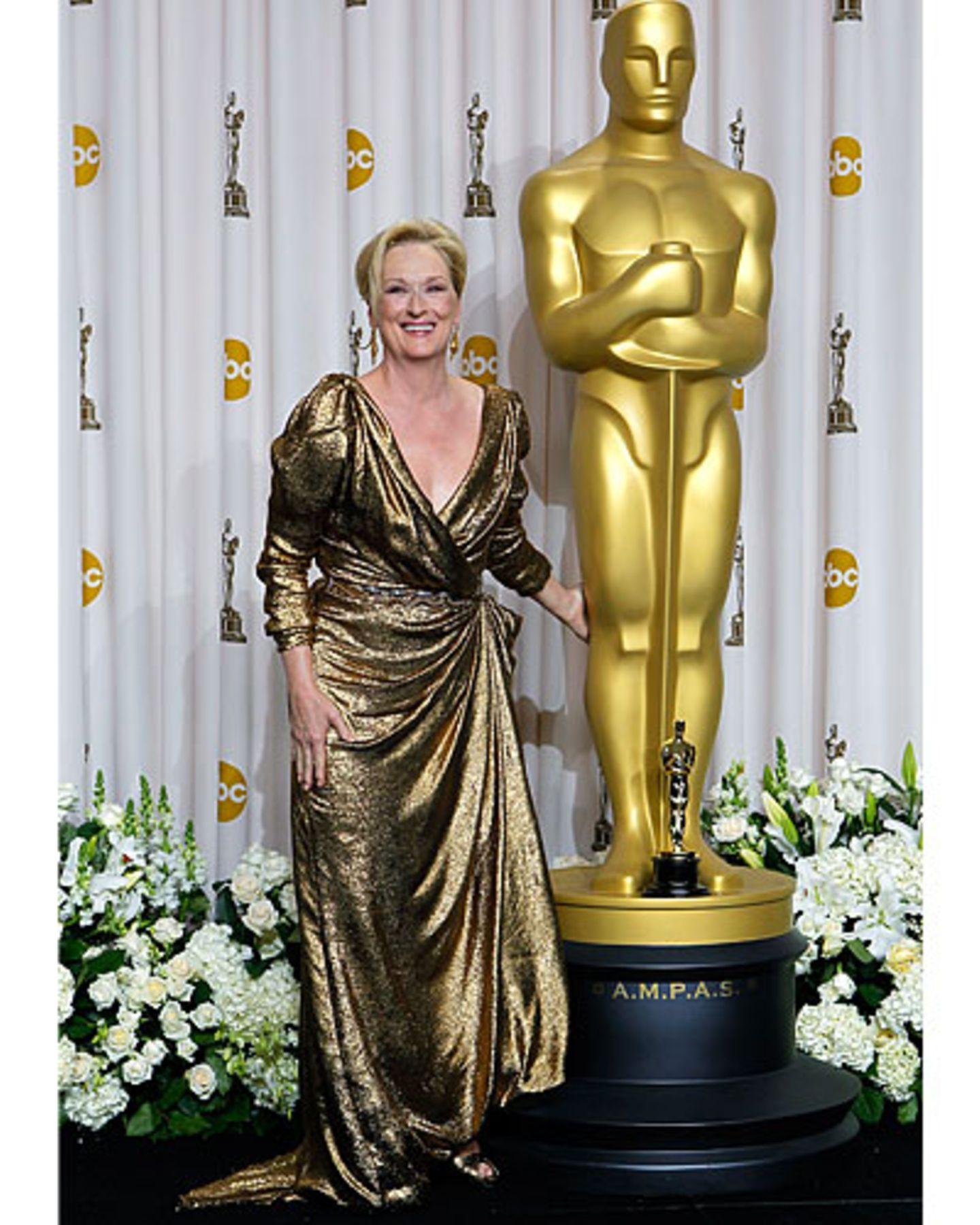 Meryl Streep bei den Oscars 2012