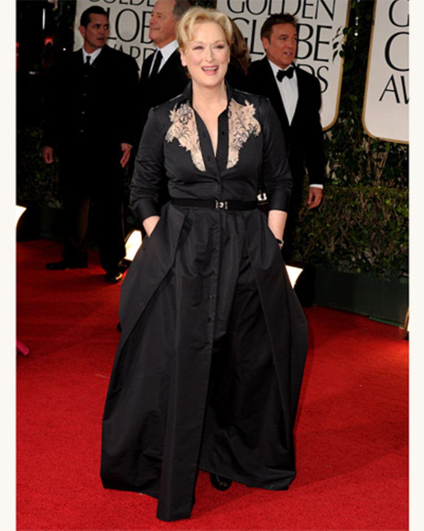 Meryl Streep bei den Golden Globes 2012