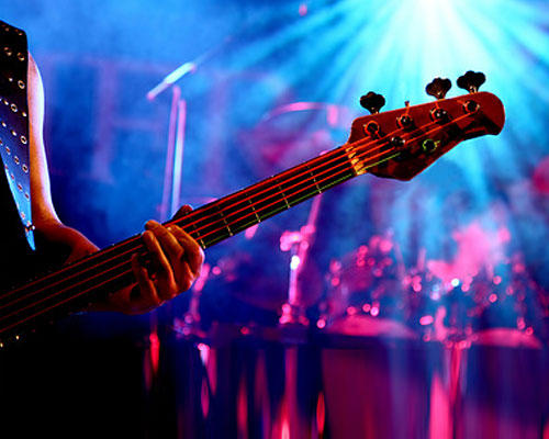 Band-Konzert geben