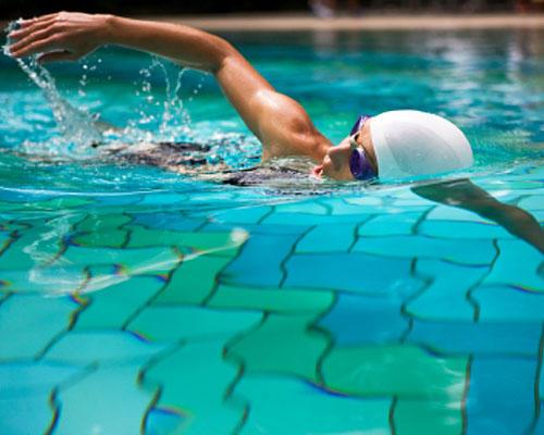 Stilvoll schwimmen