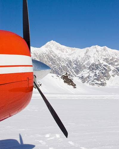 Pilotin in Alaska werden