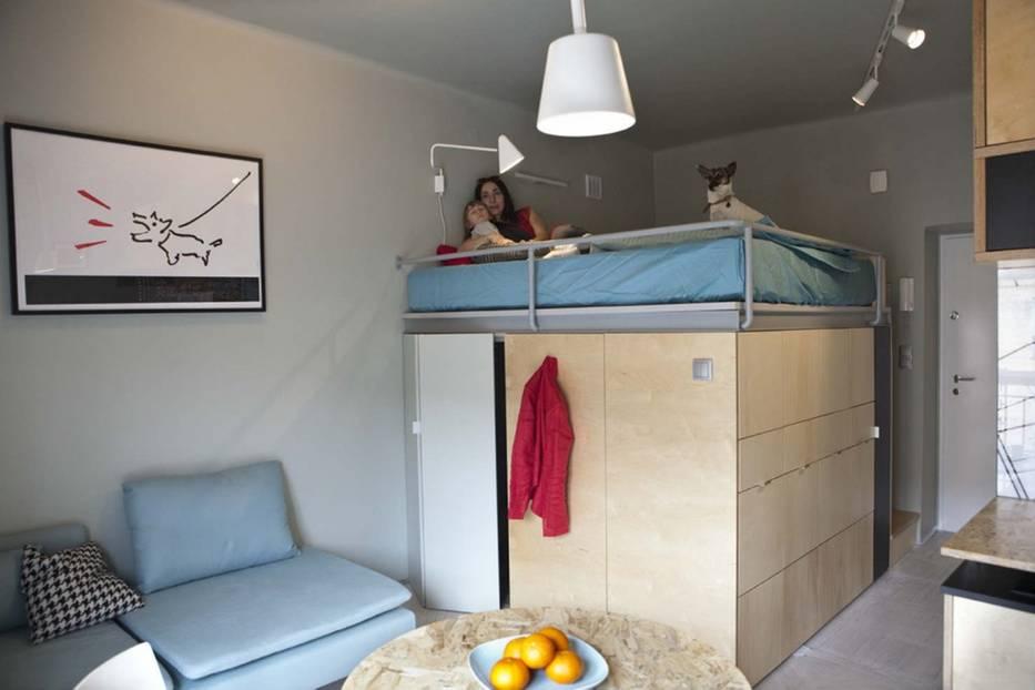 wohnidee: leben auf 25 quadratmetern - diese familie macht's vor, Wohnideen design