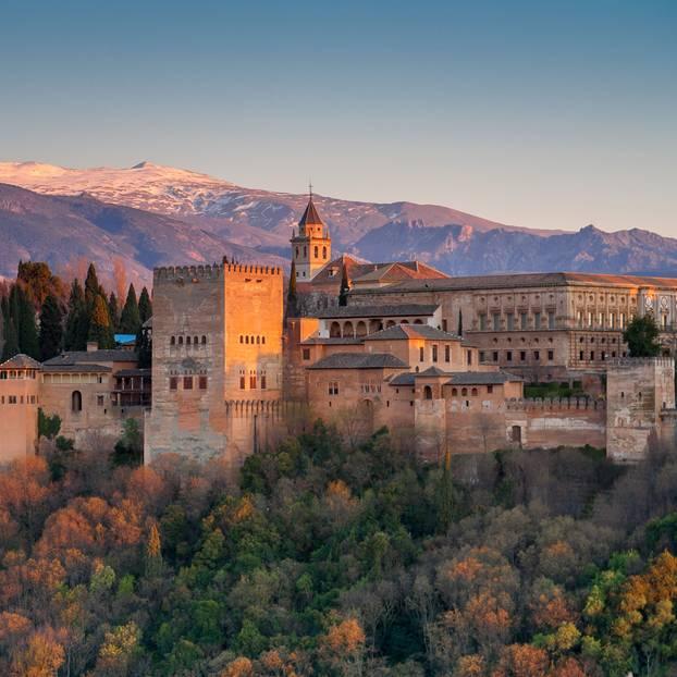 Spanien: Alhambra