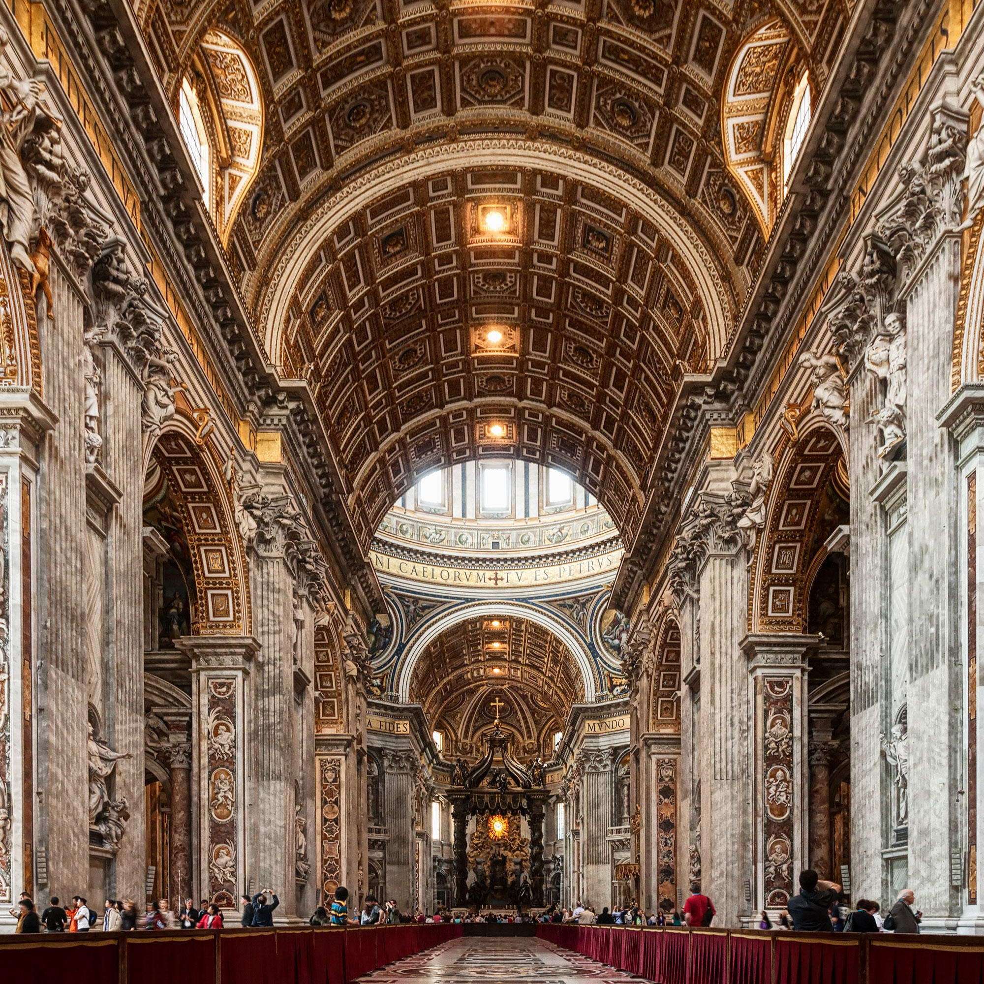 Vatikan: Petersdom