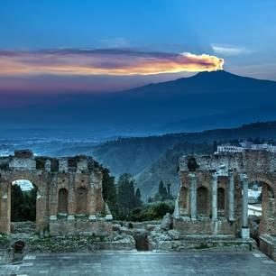 Der Ätna auf Sizilien