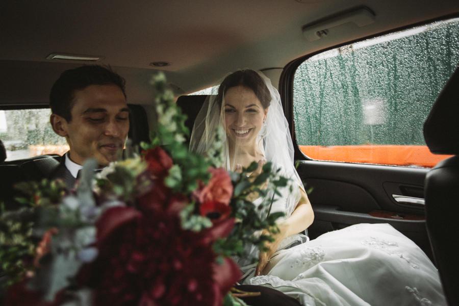 """Gewitter-Hochzeit: """"Wen kümmert schon der Regen?"""""""