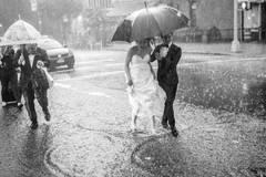 So romantisch kann Regen sein!
