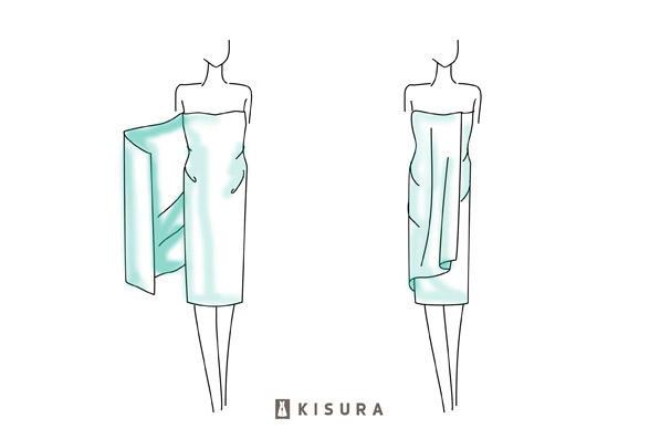 anleitung pareos wickeln 5 styling ideen mit strandt chern. Black Bedroom Furniture Sets. Home Design Ideas