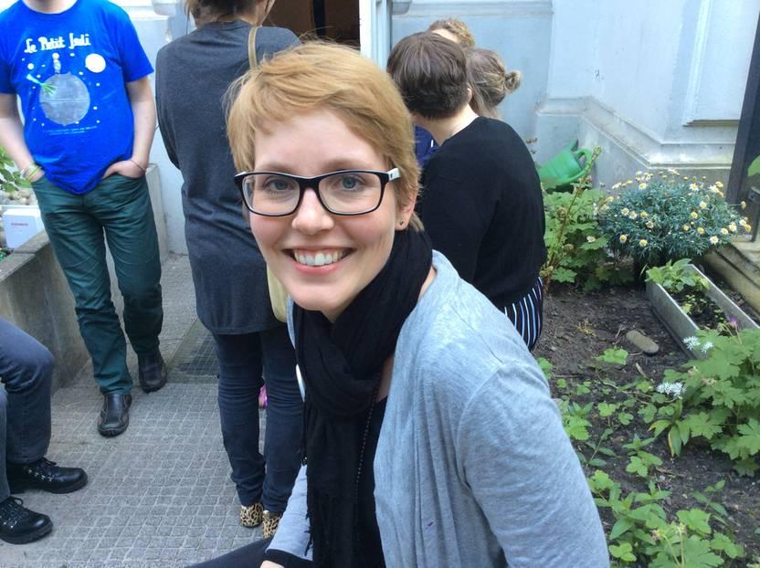 """Konferenz in Berlin: Das Thema Privatssphäre beschäftigt auch JuSu, die auf Mama Schulze über ihr Leben mit Multipler Sklerose bloggt: """"Grundsätzlich bin ich auf dem Blog sehr offen und setze mich ja auch öffentlich mit meiner Krankheit und meinem Körper auseinander."""" Was ihre Kinder betrifft, habe sie sich darüber anfangs gar nicht so viele Gedanken gemacht. """"Ich nenne ihre echten Namen und zeige sie auf Fotos, allerdings achte ich inzwischen darauf, dass sie nicht voll auf den Bildern zu sehen sind."""""""
