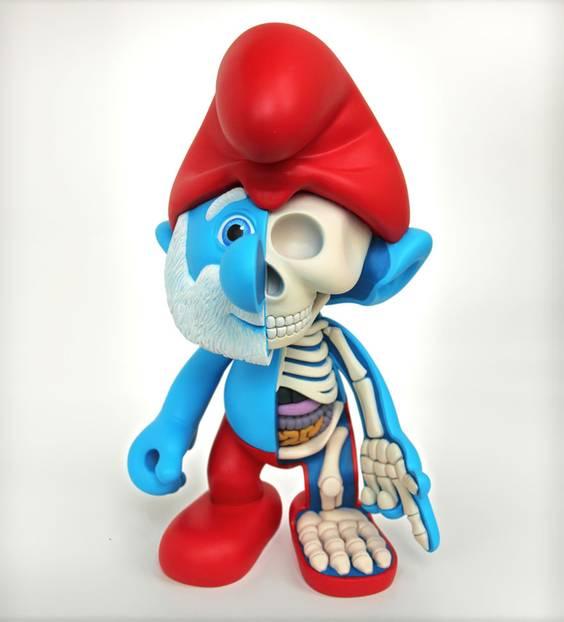 Spielzeug skelette wenn unsere liebsten spielfiguren echt for Spielfiguren basteln