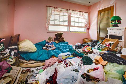 Mama ist ein Messie: Wenn Kinder im Dreck aufwachsen