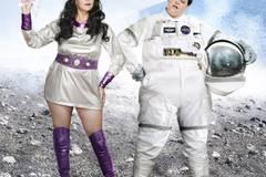 Lange nachdenken mussten die beiden nie: Blake und Beth haben beide eine Schwäche für Popkultur-Motive, insbesondere für Science-Fiction, wie auf diesem Bild.