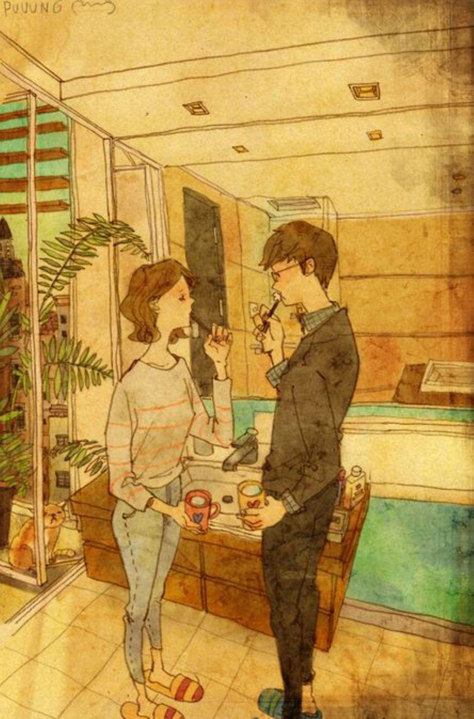 Liebevolle Gesten: Wie wir ohne Worte Ich liebe dich