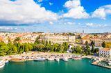 Istrien: Pula und die kleinste Stadt der Welt