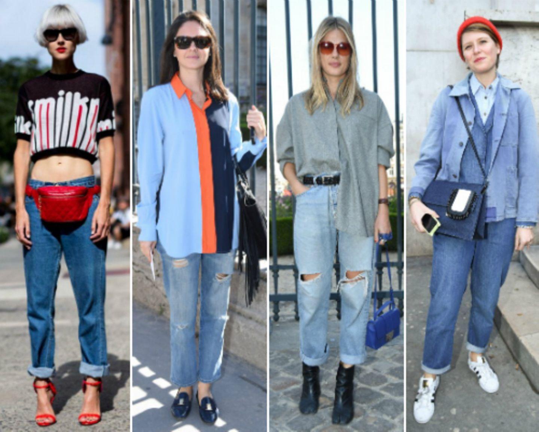 Streetstyles mit Boyfriend-Jeans