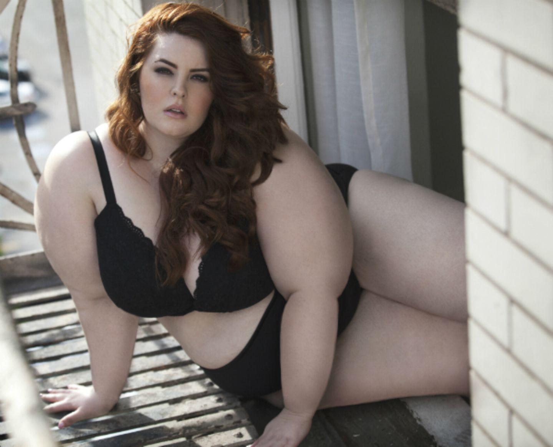 Tess Munster - Plus-Size-Model mit Kleidergröße 52