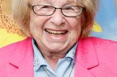 """Ruth Westheimer (86), Sexualtherapeutin und Sachbuch-Autorin (""""Silver Sex"""")"""