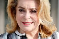 Catherine Deneuve (71), französische Schauspielerin