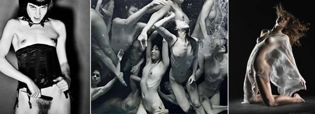 Frauenkörper gekonnt in Szene gesetzt