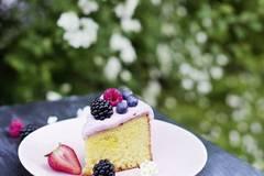 Mandel-Vanillekuchen