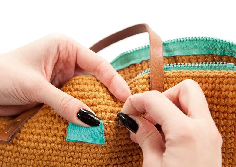 Shopper häkeln - Schritt 9