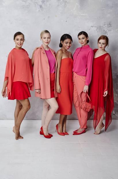 BRIGITTE Fashion@Home: Modetrend Sunset Reds