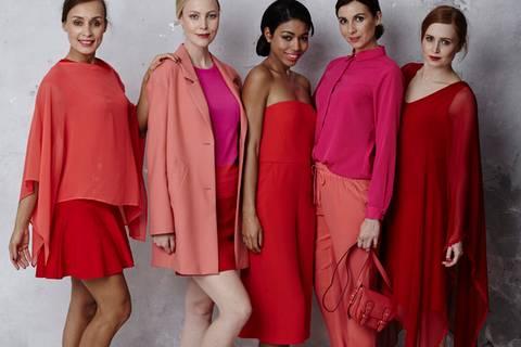 Modetrend Sunset Reds - ein Sommernachtstraum