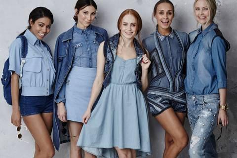 Modetrend Denim Dreams - Wir sehen blau