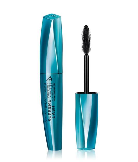 """Nicole Lötters, stellvertretende Beauty-Leitung, testete """"Supreme Lash Mascara Waterproof"""" von Manhattan für ca. 7 Euro."""