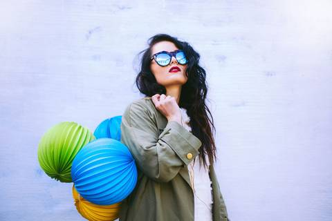 Blogger stylen die Sonnebrillen-Trends