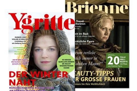 """So sähe BRIGITTE in der Welt von """"Game of Thrones"""" aus"""