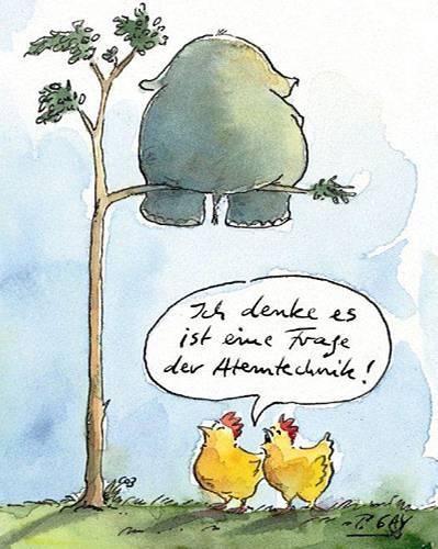 Peter Gaymann: Herr der Hühner