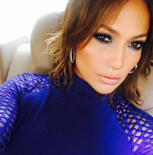 Jennifer Lopez mit Kurzhaarfrisur