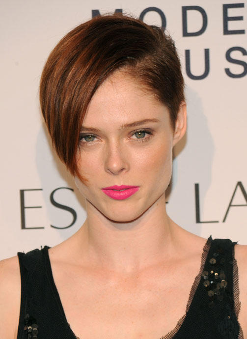 Coco Rocha mit Short-Cut