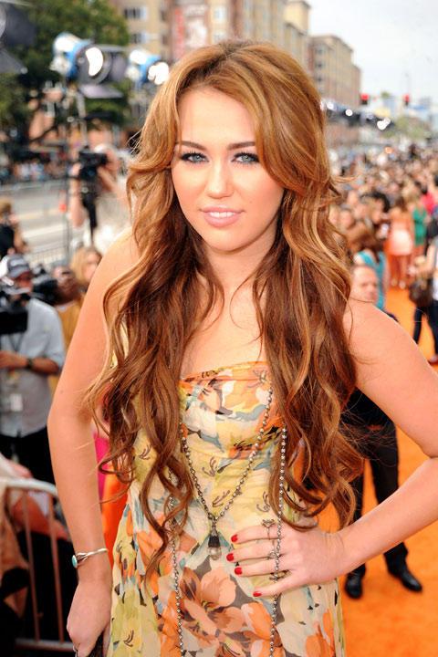 Miley Cyrus damals
