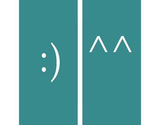 Persönlichkeit: Seit 1982 gibt es den Smiley auch online - als Emoticon. In seiner einfachsten Form besteht er aus Doppelpunkt und geschlossener Klammer. In Asien dagegen bestehen Smileys aus zwei Spitzen, die fröhliche Augen darstellen sollen. Der Psychologe Masaki Yuki hat die Erklärung dafür: Laut seiner Studie schauen Asiaten zuerst auf die Augen, um den Gefühlszustand einer anderen Person zu erkennen. Amerikaner dagegen schauen zuerst auf den Mund.