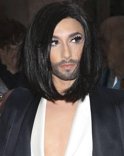 Bob-Frisur: Conchita Wurst