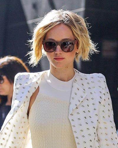Bob-Frisur: Jennifer Lawrence