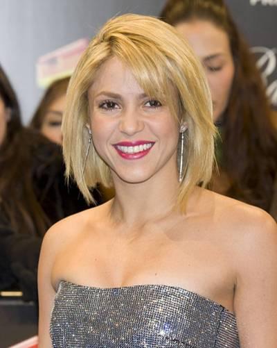 Bob-Frisur: Shakira