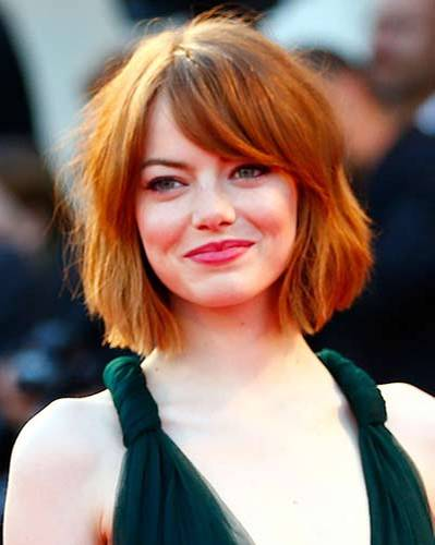 Bob-Frisur: Emma Stone