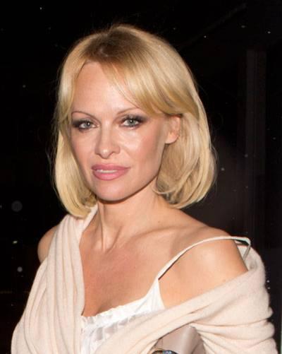 Bob-Frisur: Pamela Anderson