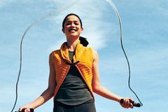 Seilspringen: Übungen zum Auspowern