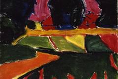 """""""Das schönste Museum der Welt"""" - Museum Folkwang bis 1933 20. März bis 25. Juli 2010 Karl Schmidt-Rottluff: Landschaft mit Feldern, 1911, Stiftung Wilhelm Lehmbruck Museum - Zentrum Internationaler Skulptur, Duisburg."""